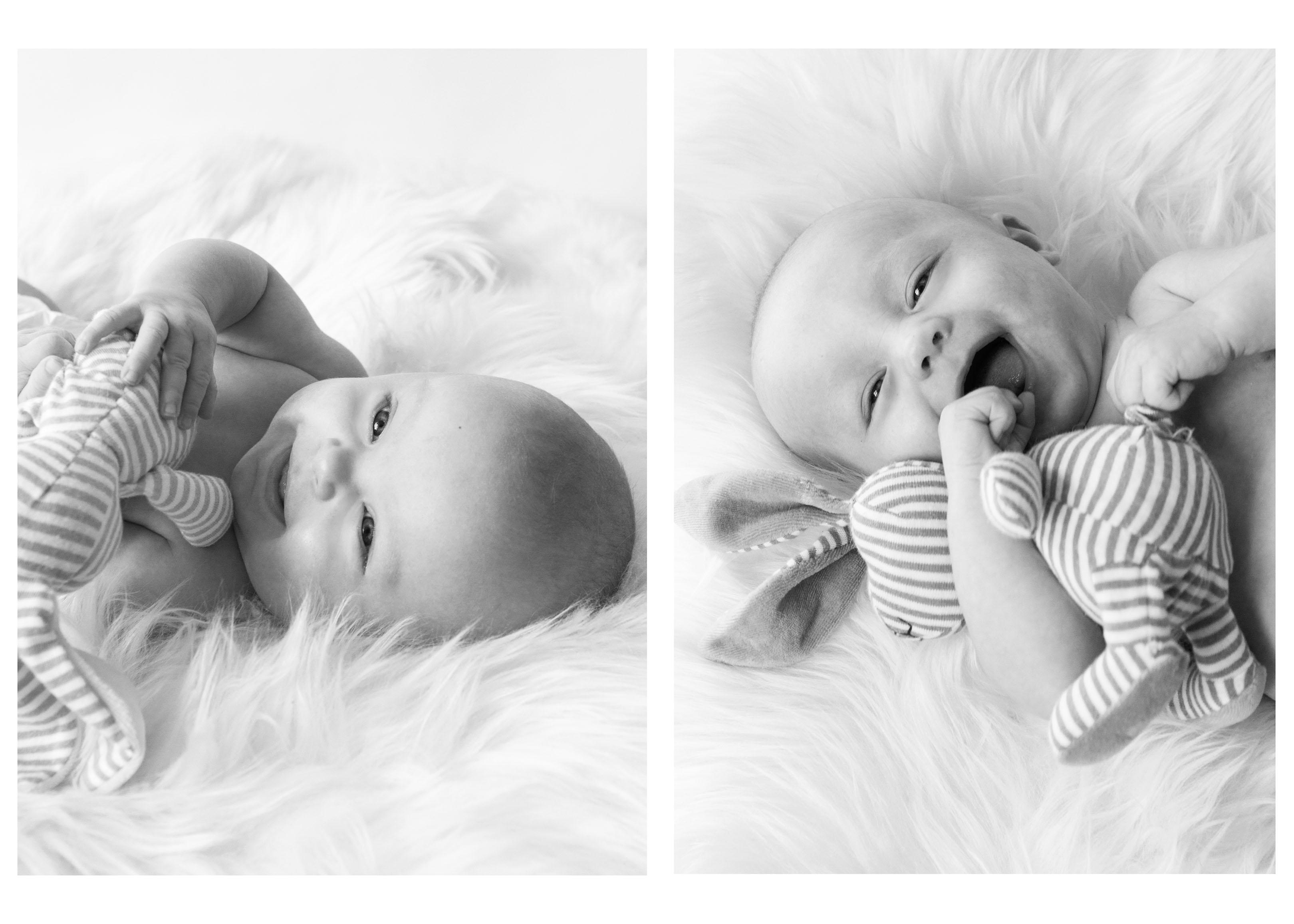 8355995d46f Månedsfotografering af tvillingernes 1. år - Kronborg Photography