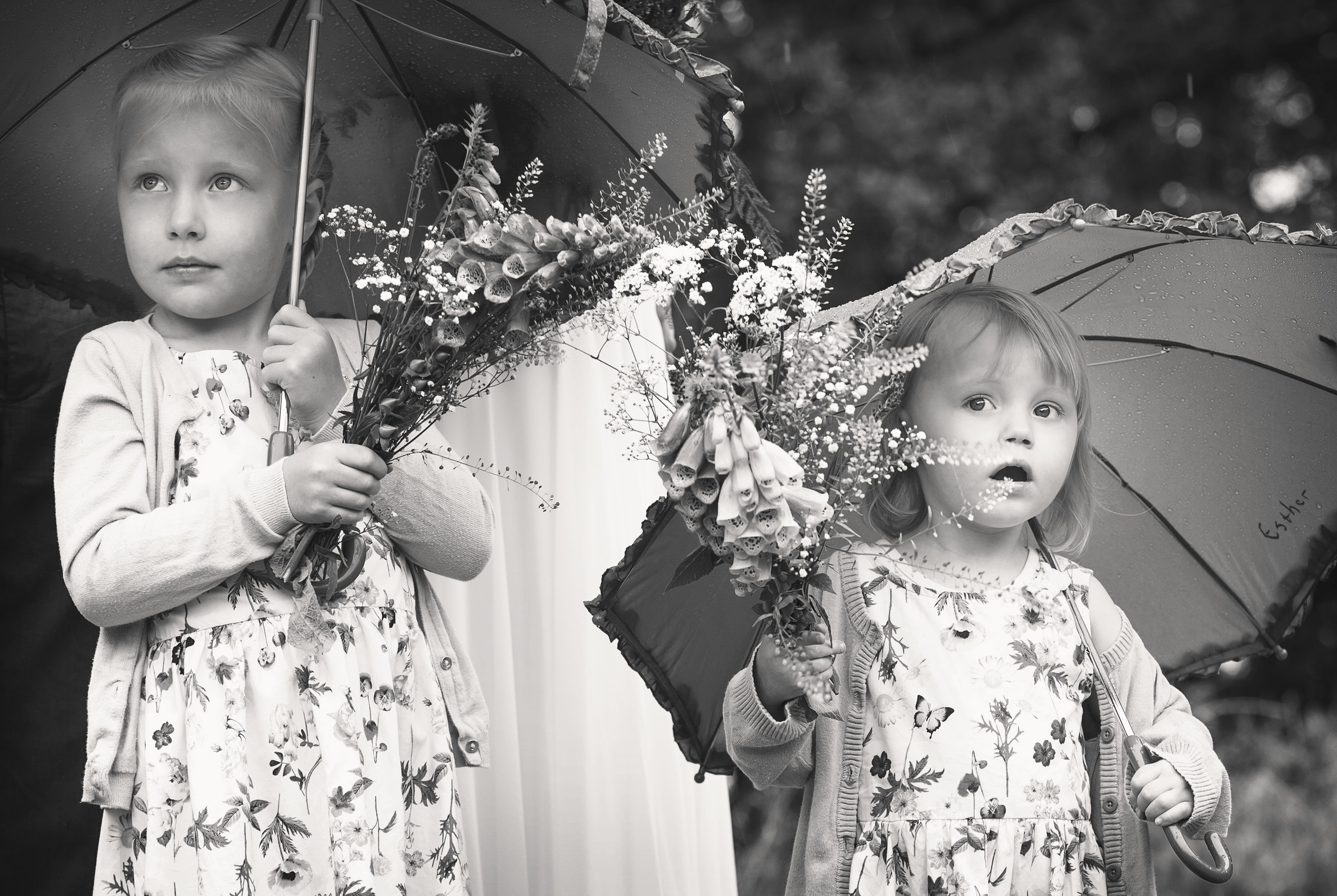 kids-flower-girls-brudepiger-black-white